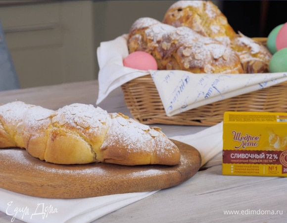 Греческий пасхальный хлеб «Цуреки»