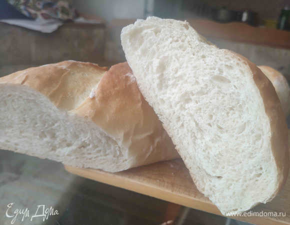 Белый хлеб на кефире