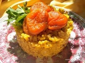 Рис с курагой и корицей