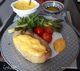 Фаршированный картофель под уанкаинским соусом
