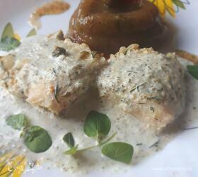 Рыба в огуречно-мятном маринаде