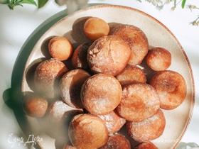 Тыквенные пончики с шоколадом