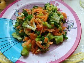 Салат с брокколи «Ромул»