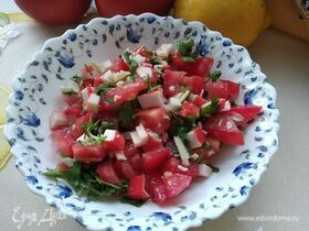 Салат с крабовыми палочками «Весенний бриз»