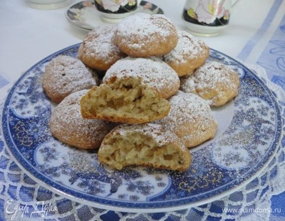 Творожно-кофейное печенье