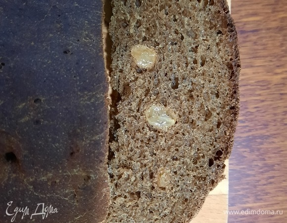 Бородинский хлеб с изюмом