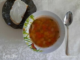 Польский томатный суп