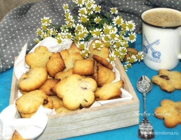 Печенье с сыром и вяленой клюквой