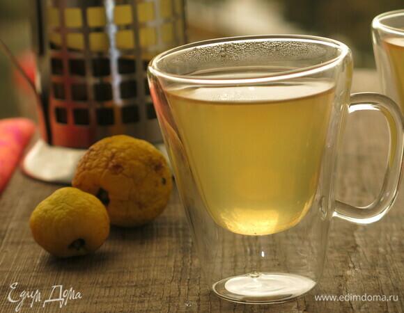 Чай с хеномелесом