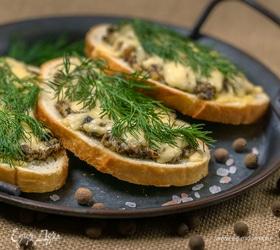 Бутерброды а-ля жюльен