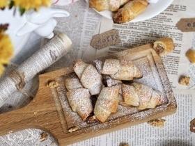 Рогалики с ореховой начинкой