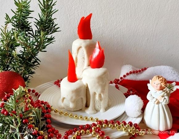 Закуска «Рождественские свечи»