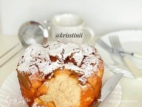 «Обезьяний» пирог с карамельным соусом