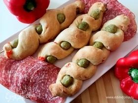 Охотничий хлеб с оливками