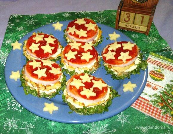 Бутерброды «Новогодние»