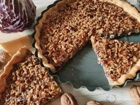 Пирог с радиккио
