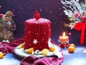 Торт «Рождественская свеча»