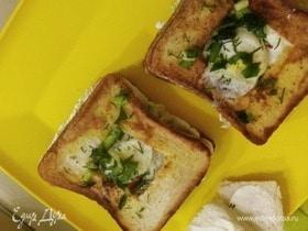 Сэндвичи с перепелиным яйцом
