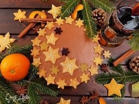 Праздничный тарт «Аромат Рождества»