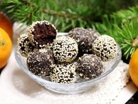 Шоколадные конфеты с авокадо
