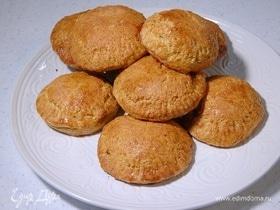Пышное печенье на кефире