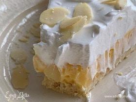 Лимонный тарт с безе