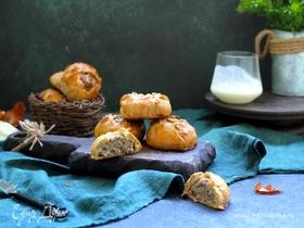 Пирожки с мясом на кефирном тесте