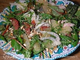 Зимний салат из цитрусовых и фенхеля