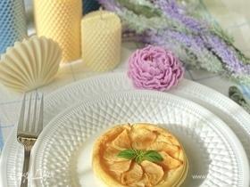 Яблочные слойки с ванильным кремом