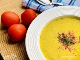 Суп-пюре из цветной капусты с кешью
