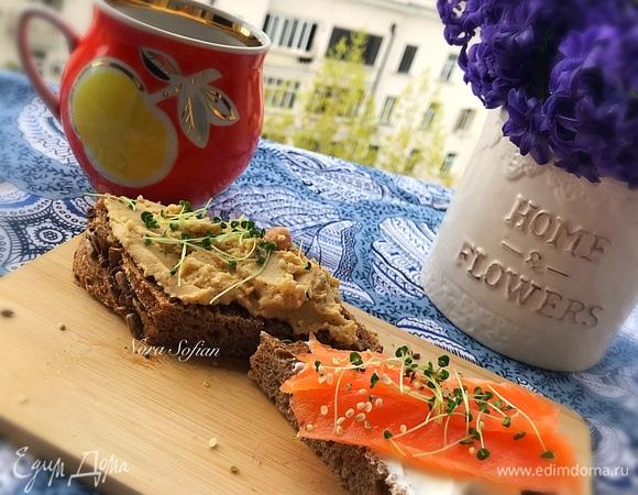 Полезные бутерброды с микрозеленью