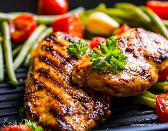 Рецепт куриного стейка на гриле