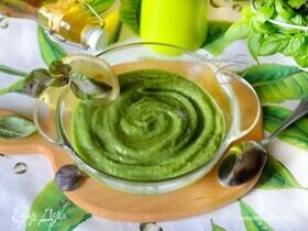 Холодный суп с авокадо