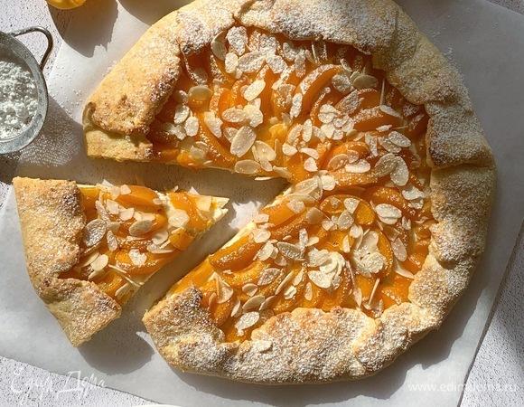 Творожная галета с абрикосами