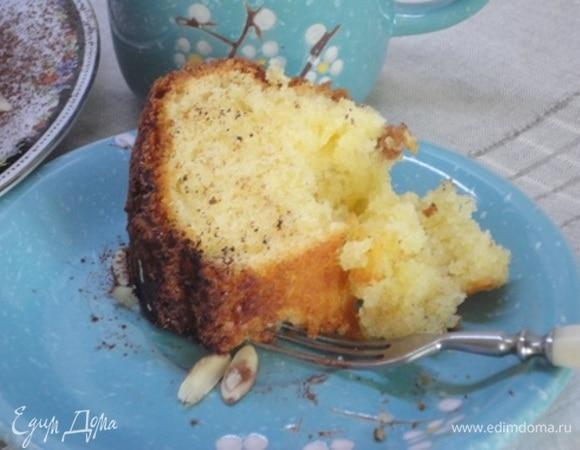 Краковский миндальный пирог