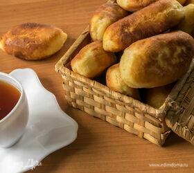 Рецепт жаренных на сковороде пирожков с повидлом