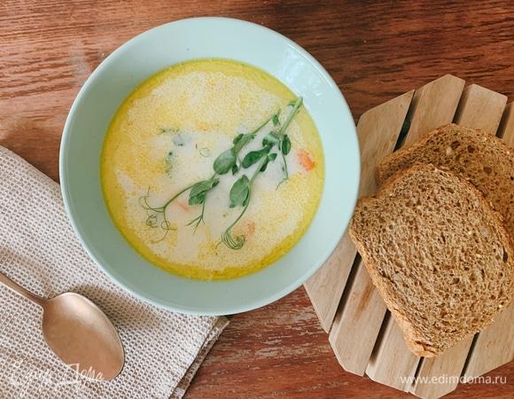 Морковный суп с кокосовыми сливками