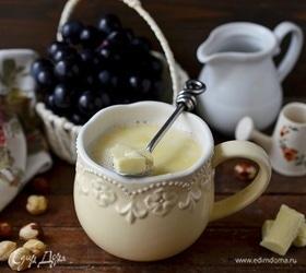 Ореховый напиток с белым шоколадом
