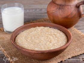 Пшеничная каша на молоке