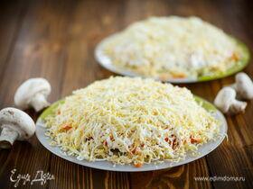 Рецепт салата «Грибы под шубой»