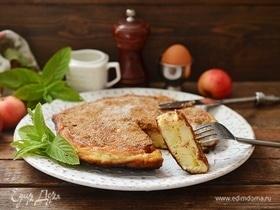 Апфельтатш — яблочный омлет