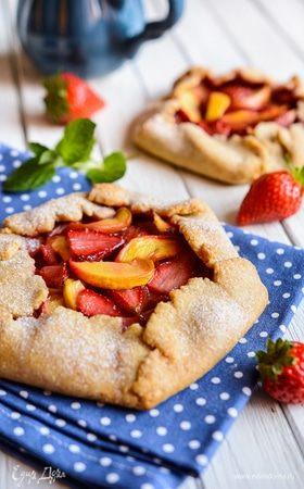 Блюда с летними фруктами