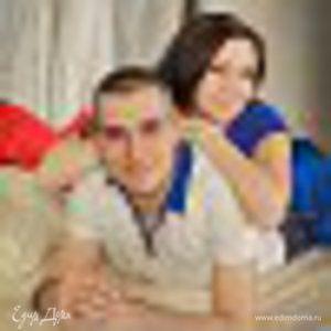 Сергей и Ксения Слюсаревские